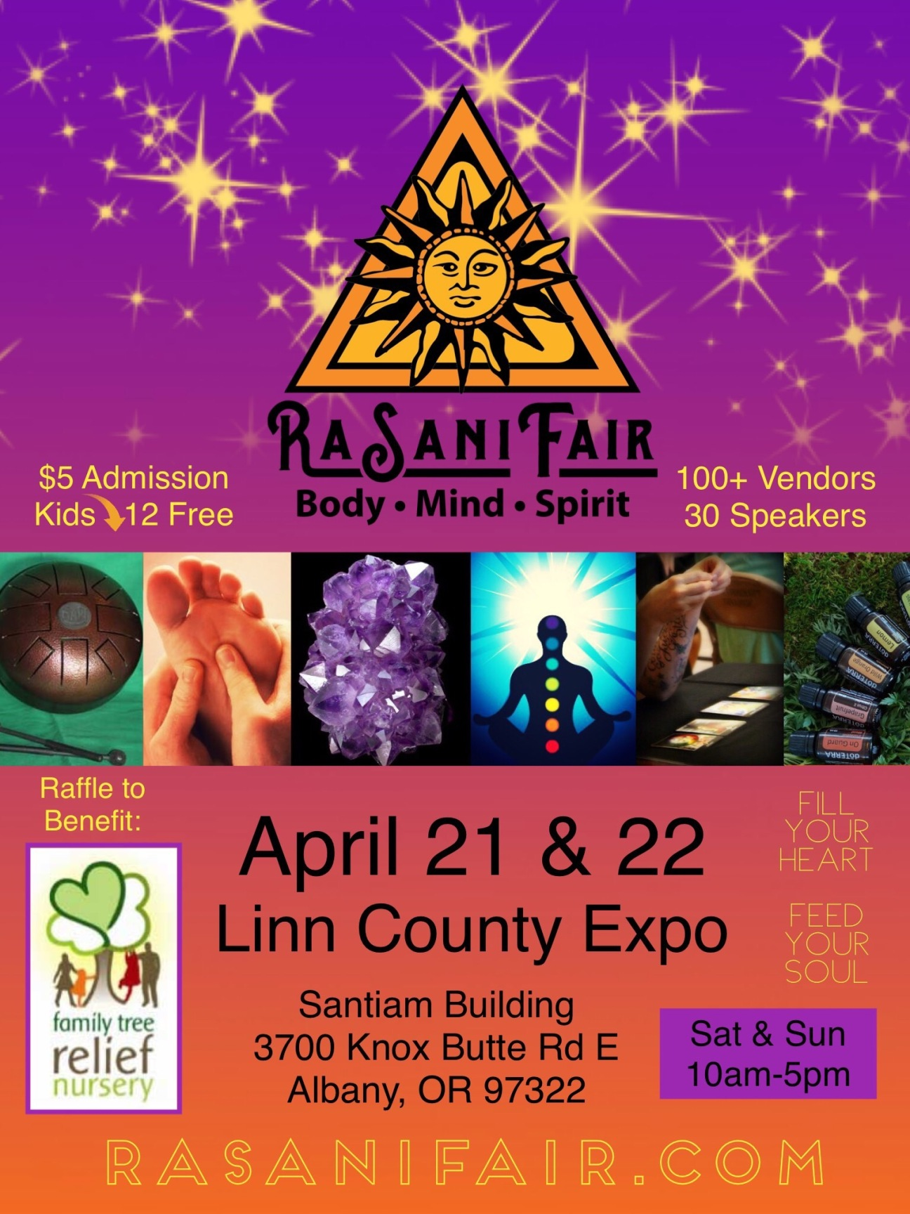 RaSani Spring Fair 2018 Poster