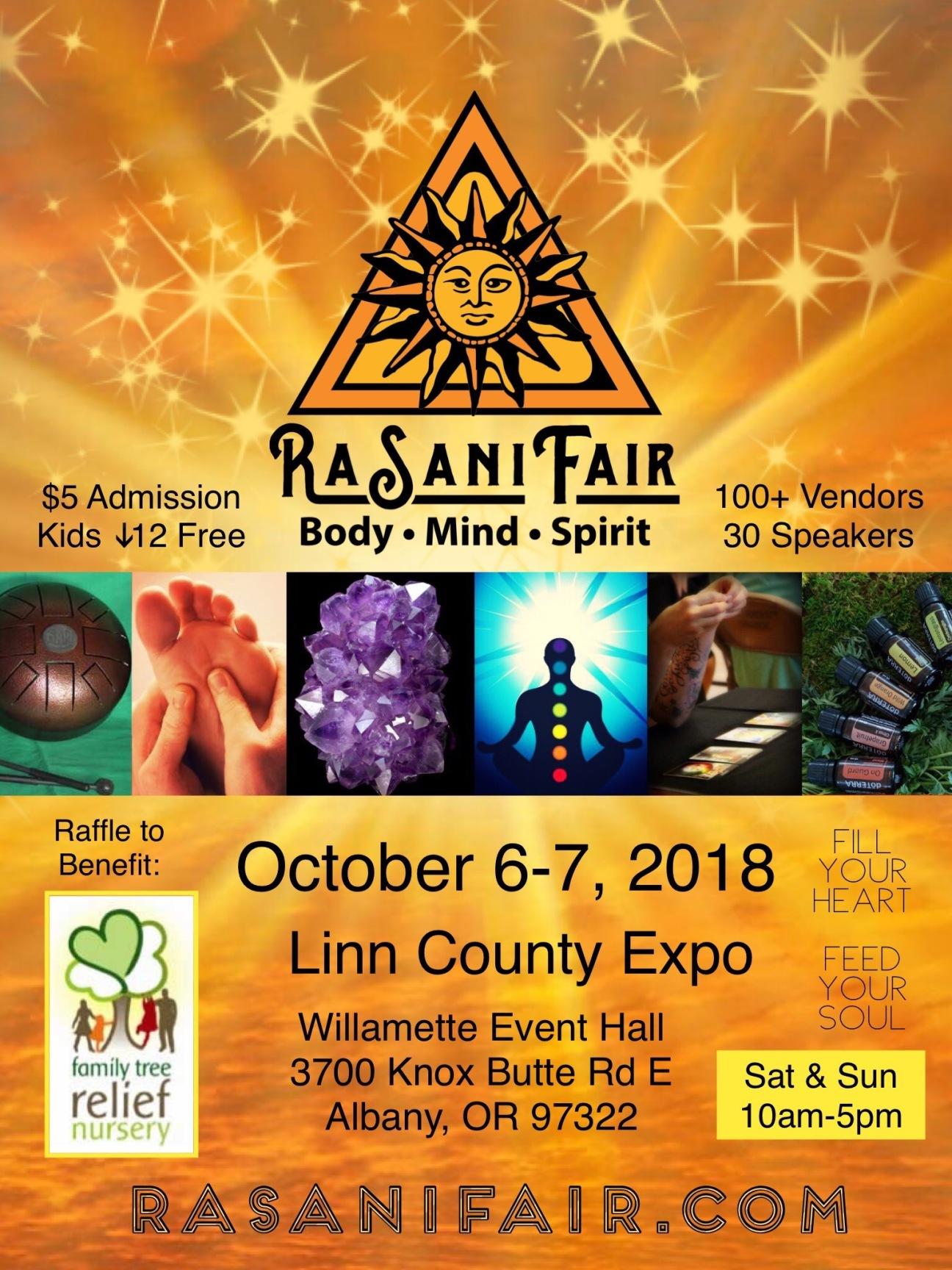 Fall RaSani Fair Poster 2018